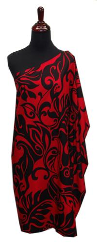 Hawaiian Aloha Friday One Shoulder Short Dress-Plus Size ...
